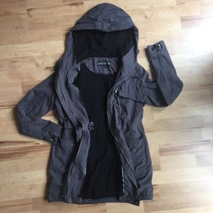UO Members Only X Anorak Gray Jacket